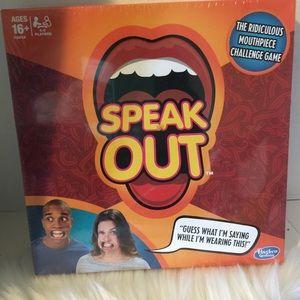 Hasbro Speak Out Game Sealed